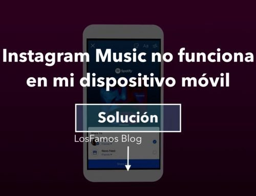 Instagram Music no funciona en mi dispositivo móvil – [2020]